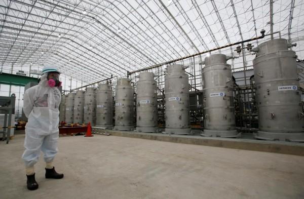 'accumulo di acqua radioattiva