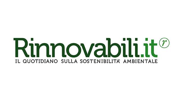 Pannelli solari sulla neve