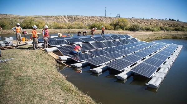 solare galleggiate