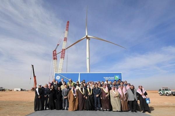 energia eolica arabia saudita