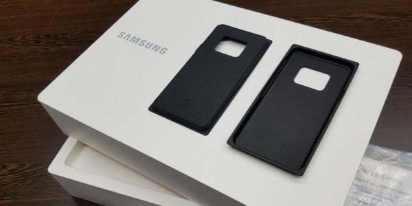 smartphone samsung packaging