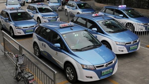 taxi elettrici shenzhen