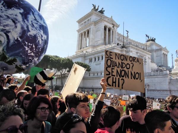 sciopero clima studenti roma