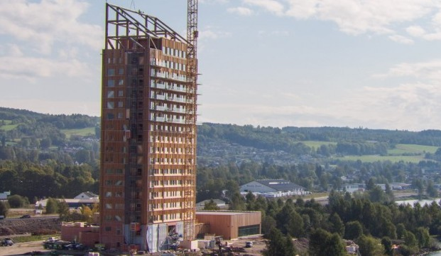 Mjøstårnet edifici in legno
