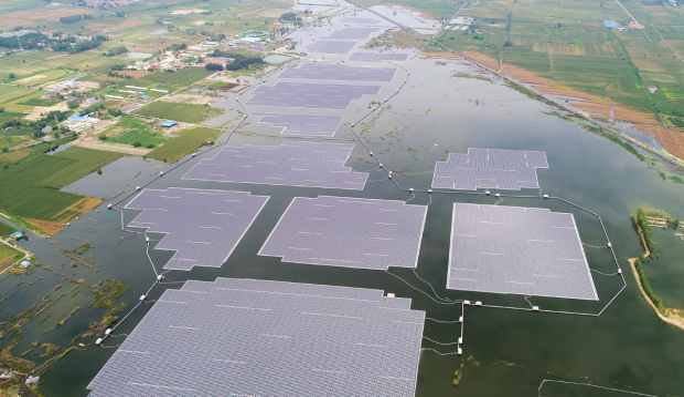 fotovoltaico galleggiante cina