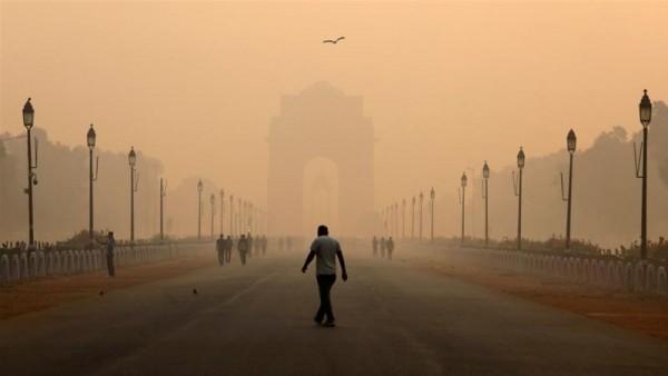 inquinamento qualità dell'aria nuova delhi