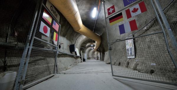 stoccaggio CO2 laboratorio Mont Terri