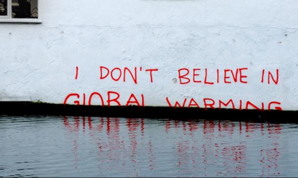 negazionismo climatico
