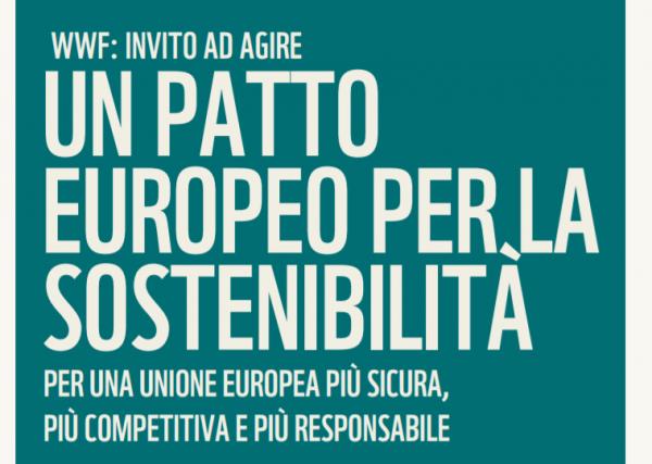 sostenibilità europa piano wwf