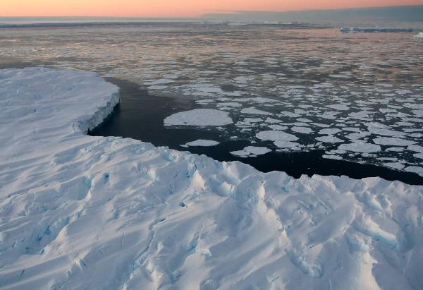 entroterra antartico scioglimento