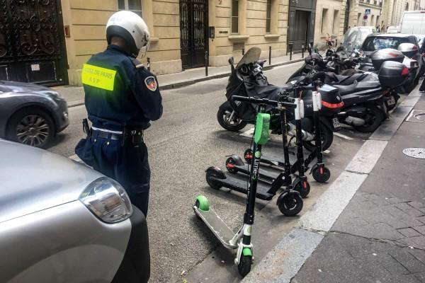 micromobilità monopattini elettrici Parigi