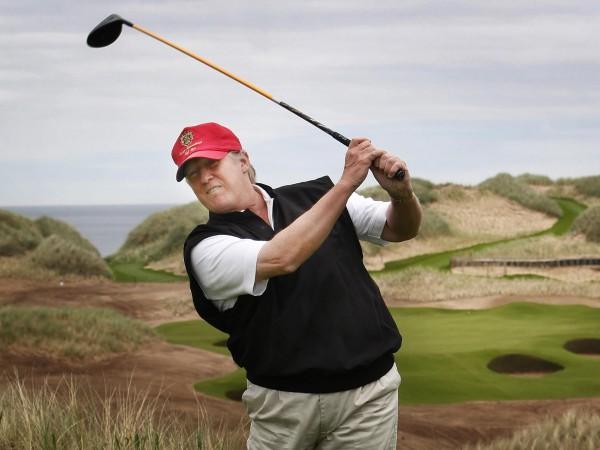 campo da golf trump scozia
