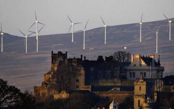 energia eolica scozzese