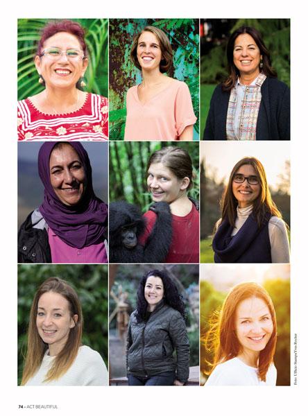 Premio Terre de Femmes Fondazione Yves Rocher