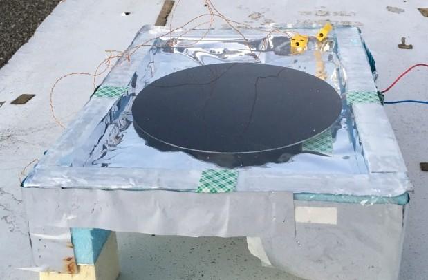 raffrescamento radiativo generatore termoelettrico