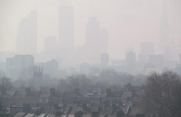 inquinamento atmosferico londra