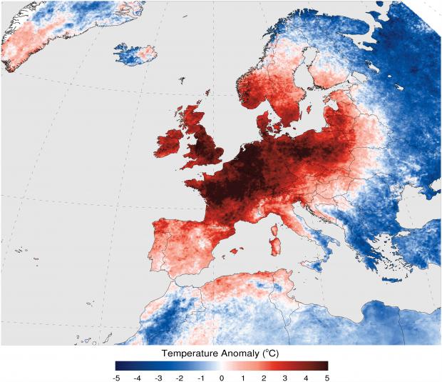 ondate di calore parigi francia