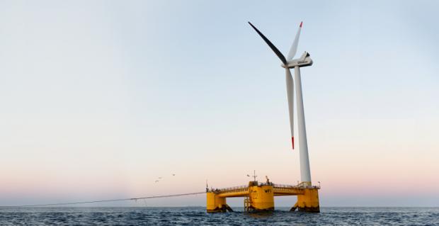 turbina eolica galleggiante