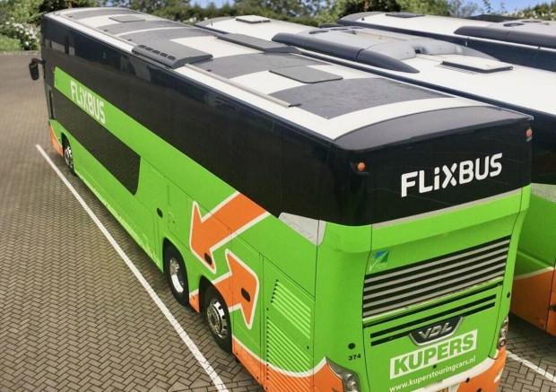 pannelli solari sugli autobus