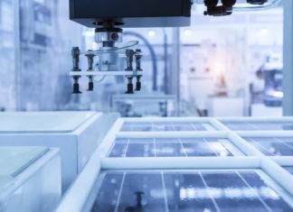 fabbrica di moduli fotovoltaici