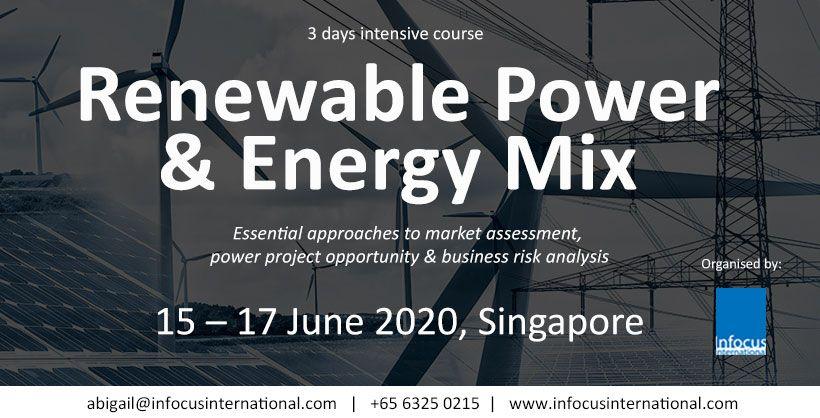 renewable power and energy mix