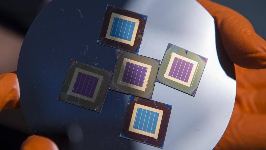 cella solare che produce idrogeno