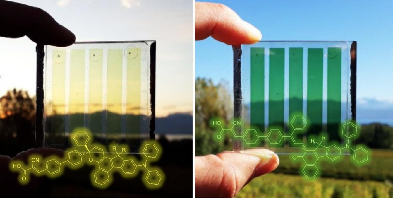 Pannelli fotovoltaici fotocromatici