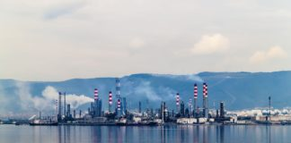 raffinerie di petrolio