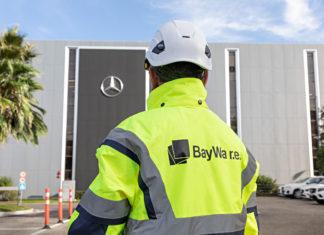 centro logistico europeo Mercedes Benz
