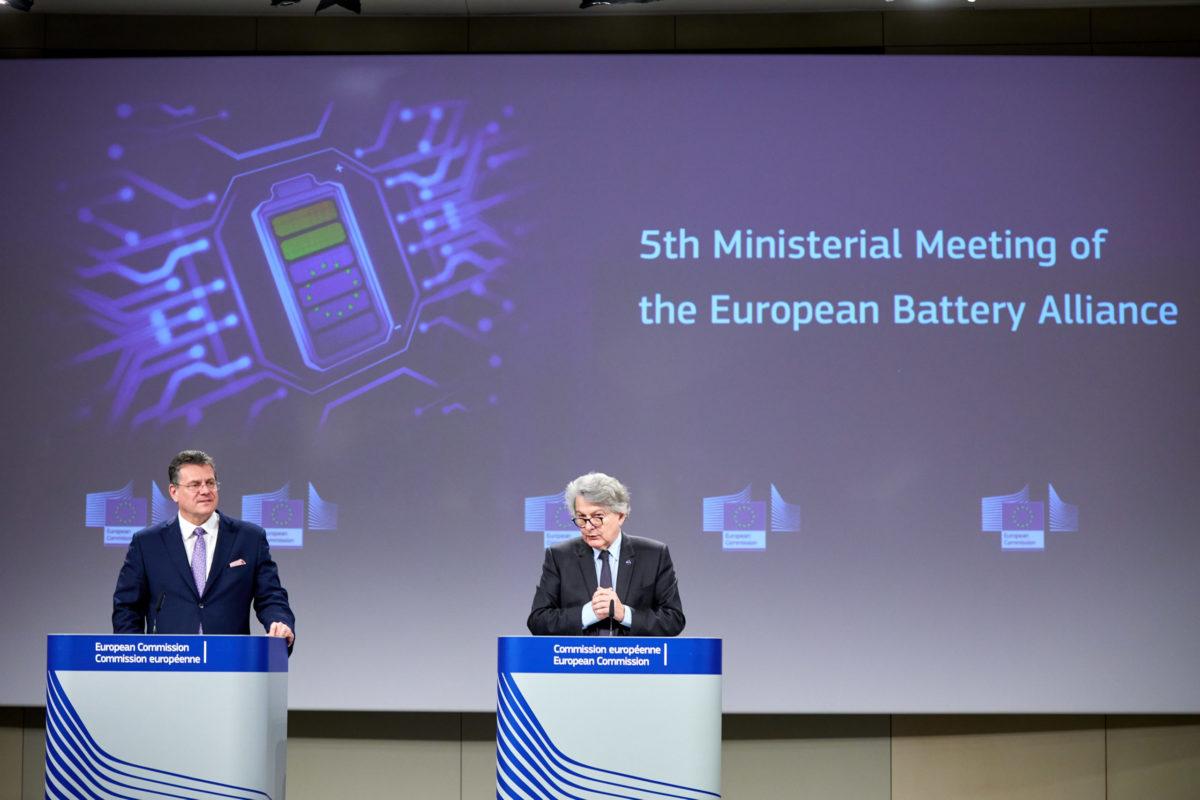 industria delle batterie UE