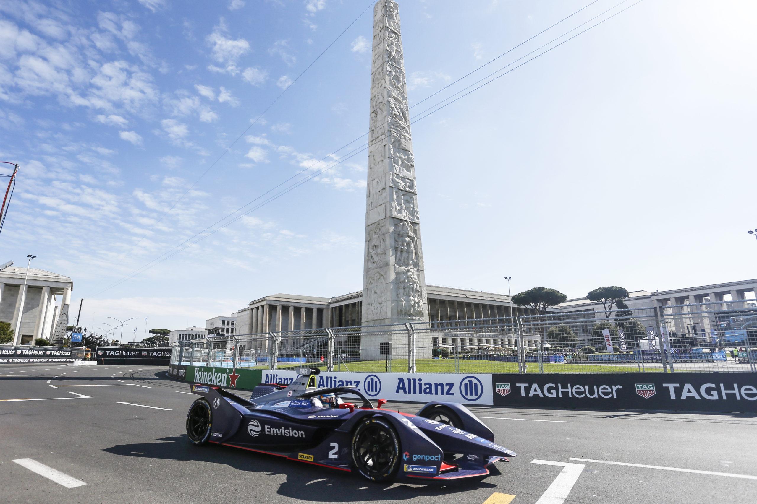 """Formula E E-Prix 2021 di Roma, due giorni """"elettrici"""" ad alta velocità"""