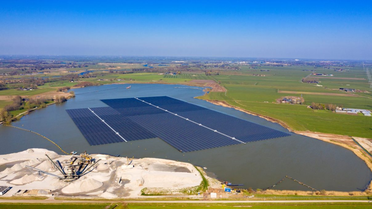 fotovoltaico galleggiante