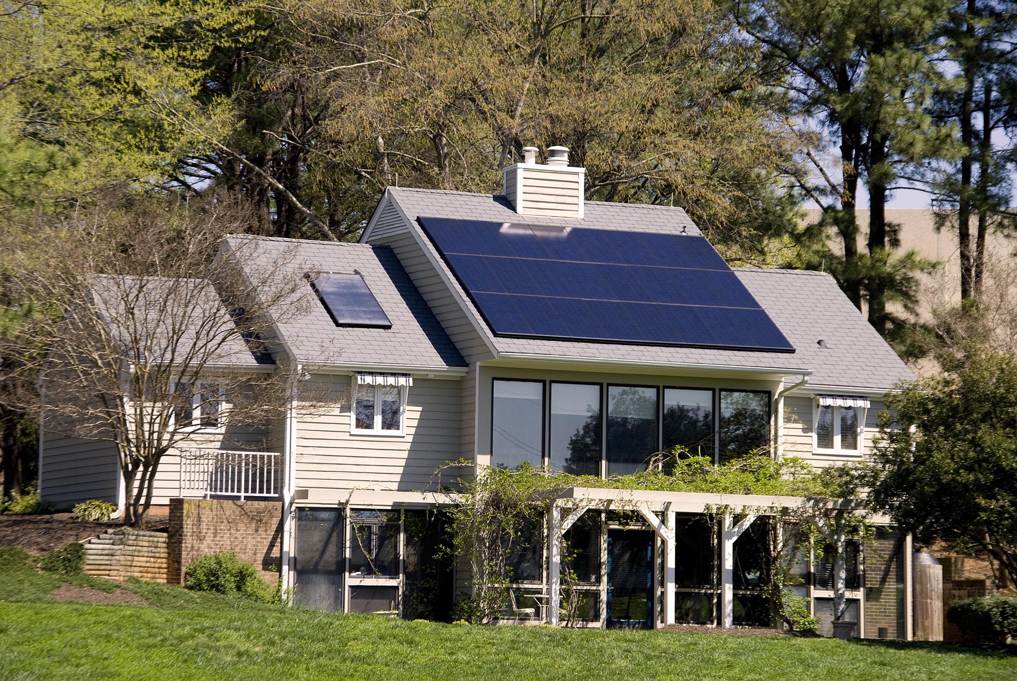 tetto fotovoltaico