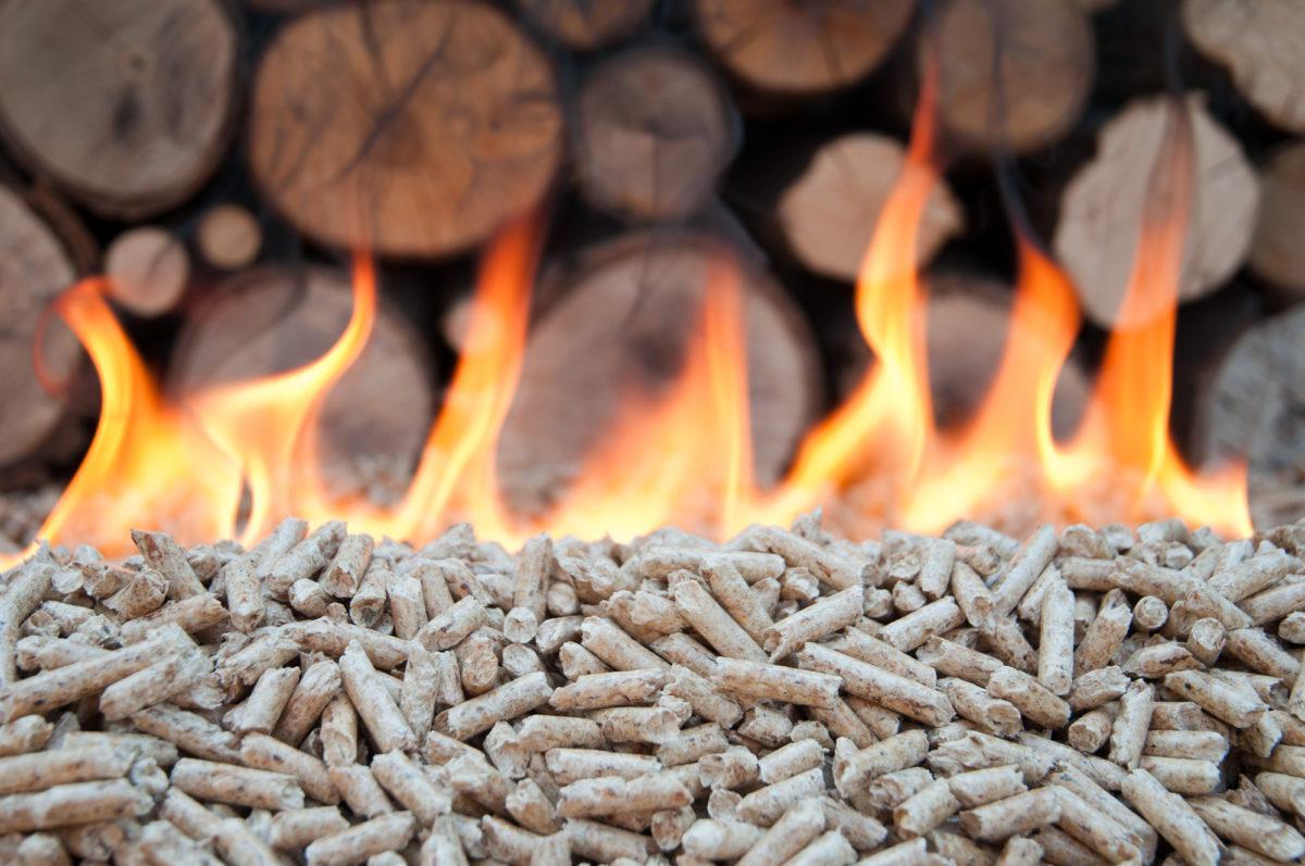 riscaldamento a biomassa