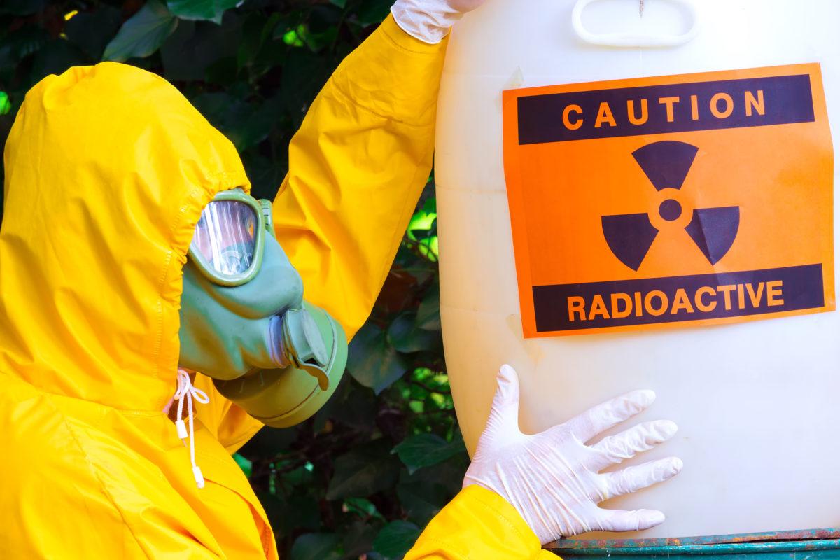 Deposito rifiuti radioattivi