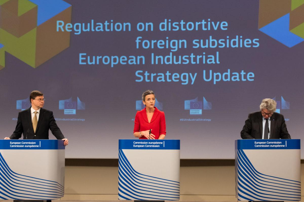 Nuova Strategia industriale UE