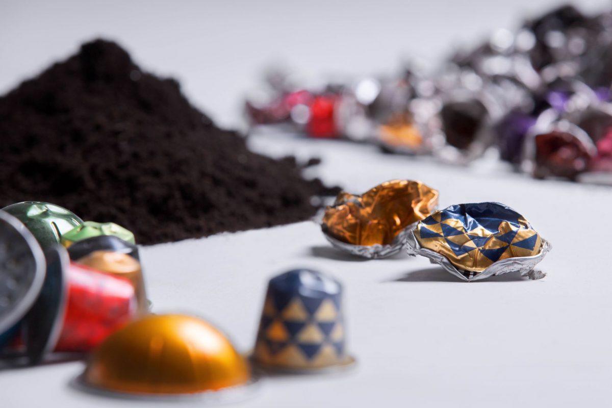 riciclare capsule di caffè