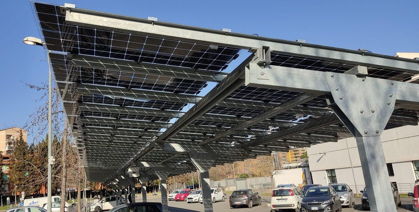GeVERI pensiline fotovoltaiche