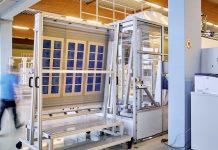 fabbrica di celle in perovskite