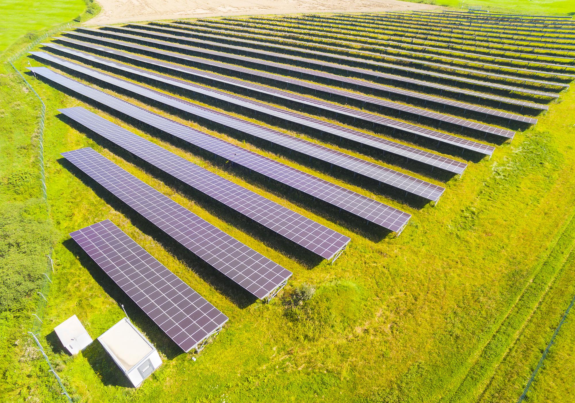 fotovoltaico sul terreno agricolo