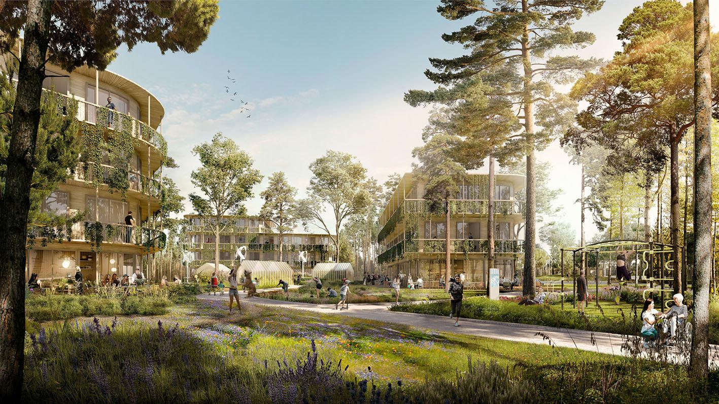 UNStudio, il masterplan di rigenerazione urbana per Bruzzano