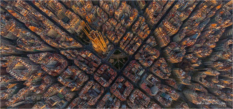 Pianificazione urbana - quattro modelli - Credits: Airpano