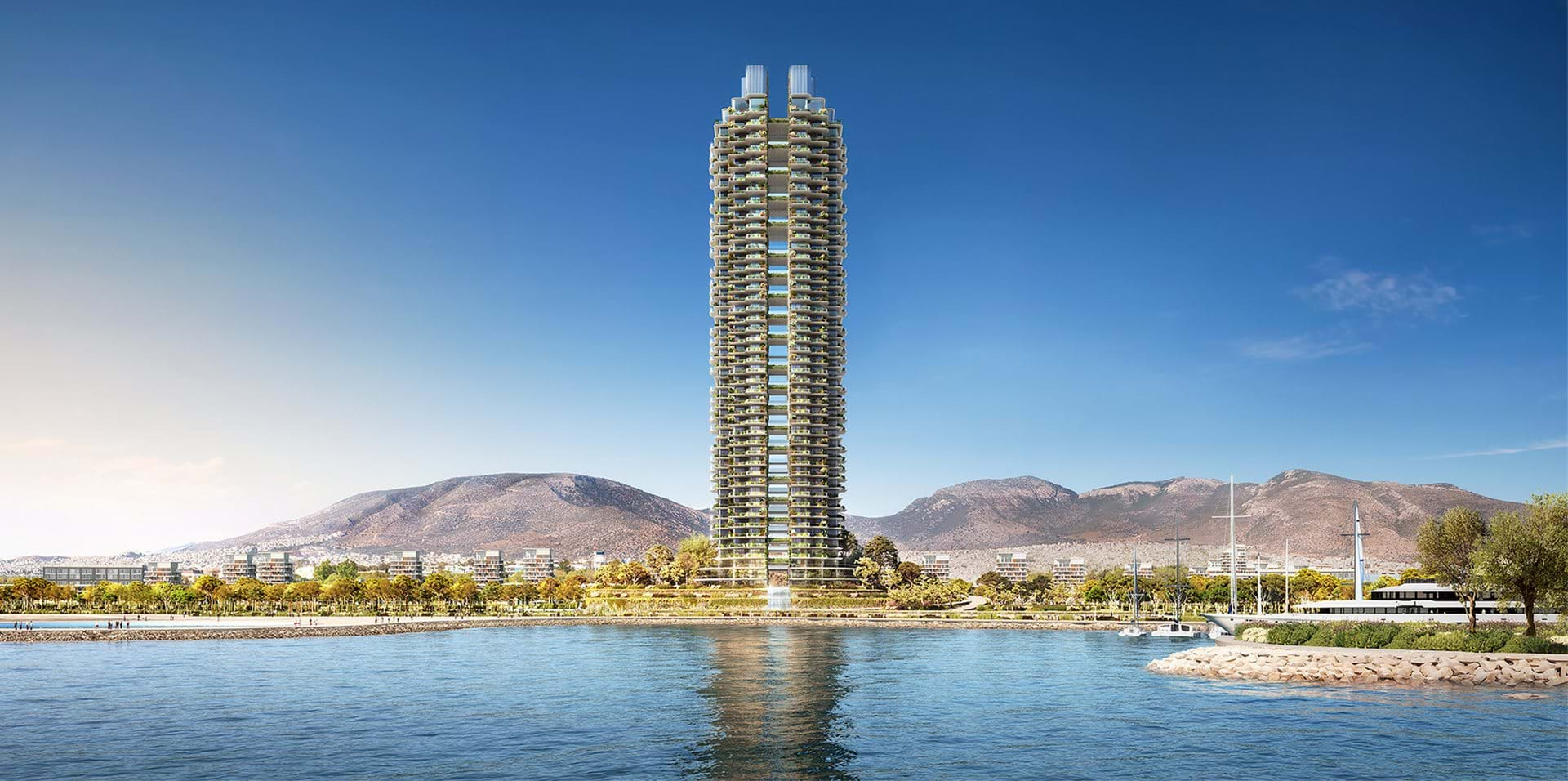 MArina Tower Credits: Foster + Partners