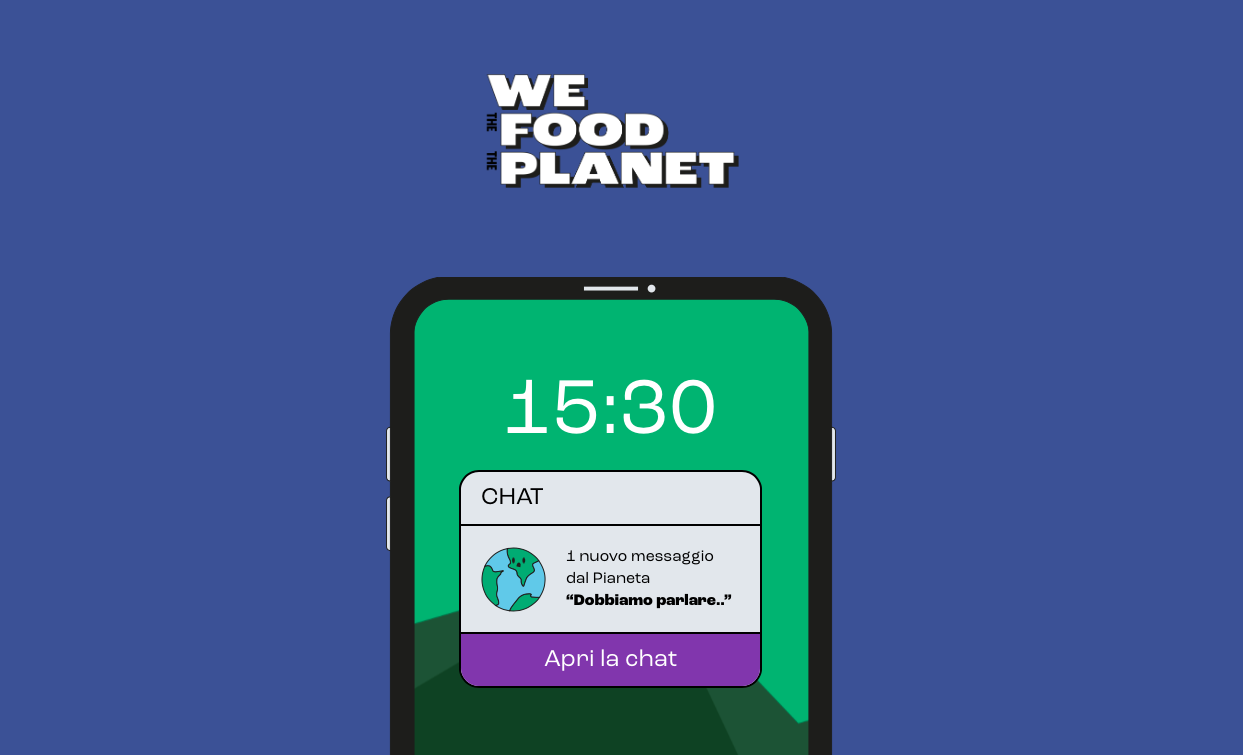 We The Food The Planet