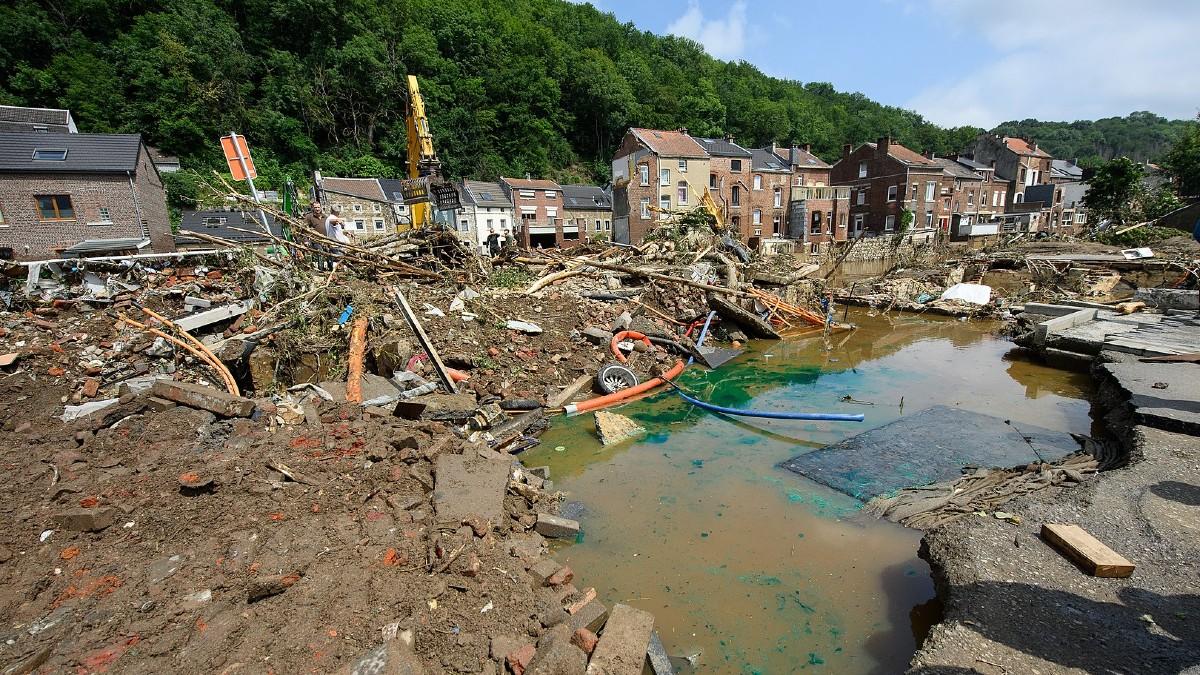 Alluvione in Nord Europa: il climate change l'ha resa il 20% più probabile
