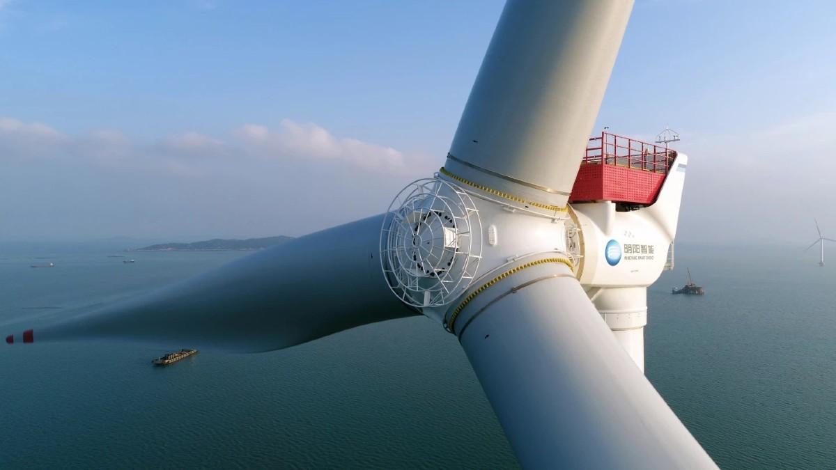 Turbina eolica offshore da record: dalla Cina 16 MW e 264 m di altezza