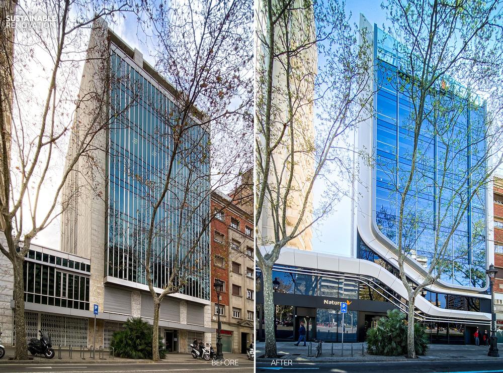 Facciata fotocatalitica per la riqualificazione sostenibile di D525 a Barcellona