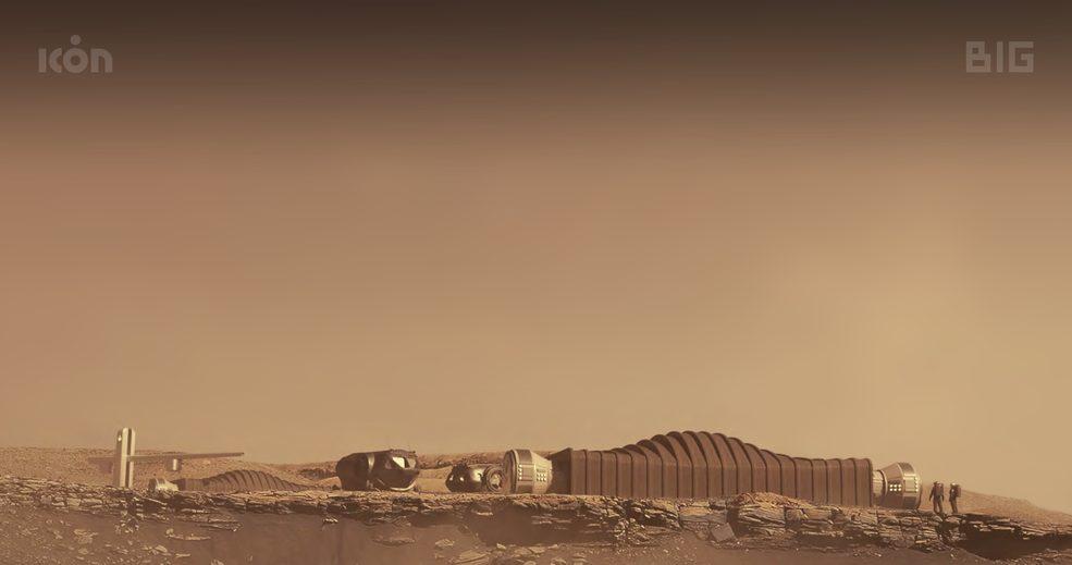 Mars Dune Alpha Conceptual Render - Credits: ICON