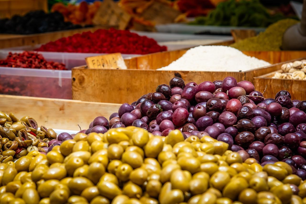 produzione delle olive