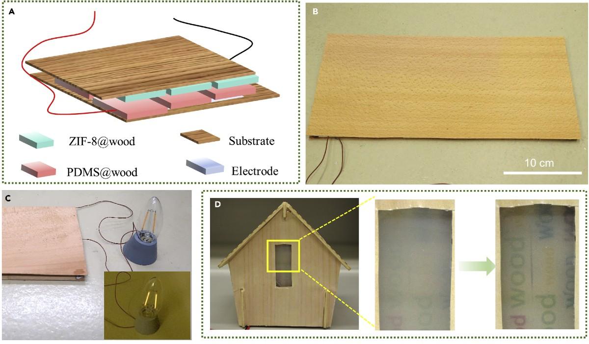 Nanogeneratore triboelettrico dal legno: l'energia pulita arriva dal parquet di casa